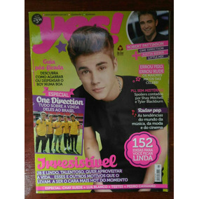 Revista Yes! Teen Capa Justin Bieber - Ano 6, N° 66