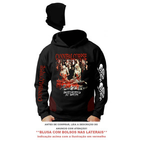 Blusa Cannibal Corpse Butchered At Birth 6d6ed2d63ea