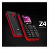 Celular Blu Z4 Z190 2 Chip Bluetooth Rádio Fm Mp3 Tela 1.8