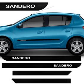 Friso Lateral Do Renault Sandero Novo 2015 Borrachão