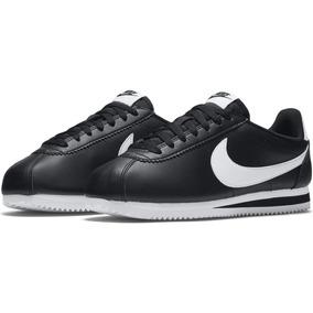 best website ae3a4 c04a9 Zapatillas Nike Cortez Clásico Negro Nuevo Unisex 2017