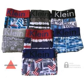 0f5c467e5ebdf2 Kit 10 Cuecas Calvin Klein Atacado - Boxer Masculino Marrom no ...