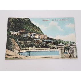 Cartão Postal Antigo Hongkong China - M. Stenberg