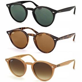 0c3445e5aa089 Oculos Redondo Masculino Espelhado Rayban Preto - Óculos no Mercado ...