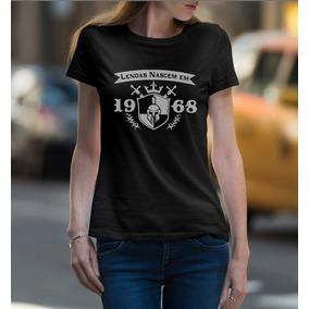 Camiseta As Lendas Nascem 1968 - Camisetas Manga Curta no Mercado ... 45b4435bccd5b
