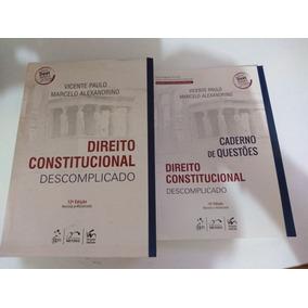 Direito Constitucional Descomplicado+ Caderno De Questões