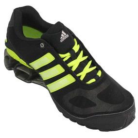 Tênis adidas Devotion 4m Mesh Preto verde (novo E Na Caixa) 8512a485ed