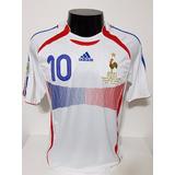 Camisa Zidane Franca 2006 - Camisas de Futebol no Mercado Livre Brasil e0b02493ad02f