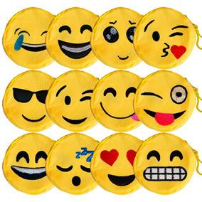 12 Porta Moeda Chaveiro Bolsinha Emoji Emoticons Whatsapp