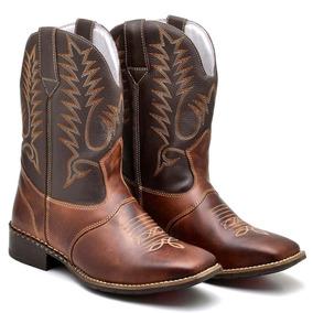 Bota De Peao Cano Longo Masculina - Sapatos no Mercado Livre Brasil 76765ec4d89