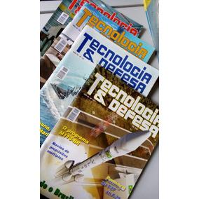 4 Revistas Tecnologia E Defesa - Super Barato E Imperdível!