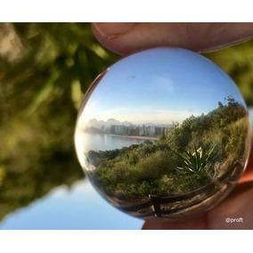 Bola De Vidro Esfera De Cristal Ideal Para Fotógrafos 70 Mm