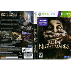 Rise Of Nightmares Xbox 360 Usado