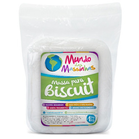 Massa De Biscuit Mundo Das Massinhas Natural 5kg