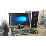 Computadora Completa Hp, Core 2 Quad