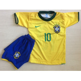 Kit Conjunto Brasil Neymar Camisa Calcao Copa 2019 Promocao 9c28bb051569d