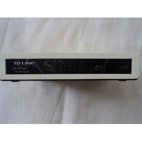 Switch Tp Link Tl-sf1008 De 8 Puertos Con Cargador