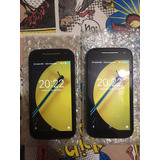 Moto E 4g 8gb Movistar Android 6.2 Negro Light Blue Watsap