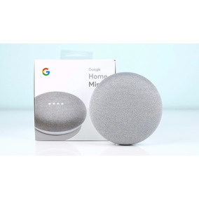Caixa De Som Speaker Google Home Mini Chalk Wi-fi Lacrada