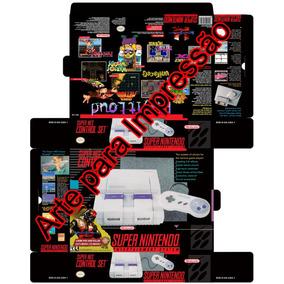 Arte Para Impressão Super Nintendo Killer Instinct Edition