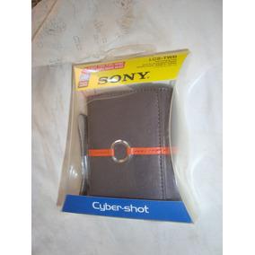 Estuche Sony En Cuero, Para Cámaras Digitales.extra Calidad.