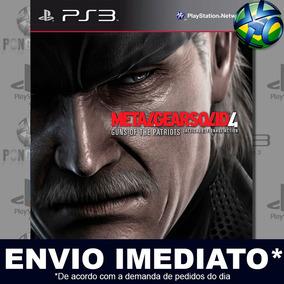 Metal Gear Solid 4 Ps3 Mídia Digital Envio Agora