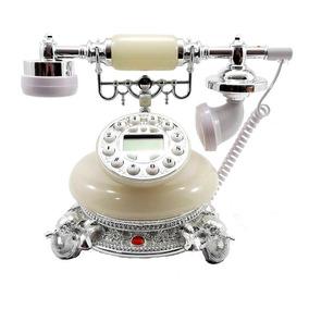 Telefone Pedra Elefante Gelo Luxo Vintage Decoração