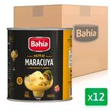 Bahia 12 Latas Pulpa Cocteleria Maracuya 900g + Envio Gratis