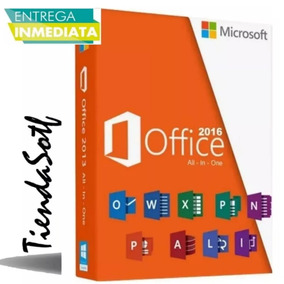 Paquete Office 2016 Con Video Tutorial De Guia