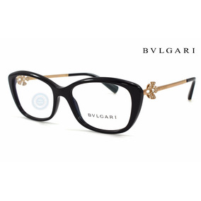 c660d3596c Lentes Bvlgari 4145b 501 Black - Gold Oftalmico Super Precio
