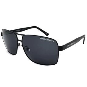 4709f58e88e1d Oculos De Sol Retangular Preto Outras Marcas - Óculos De Sol no ...