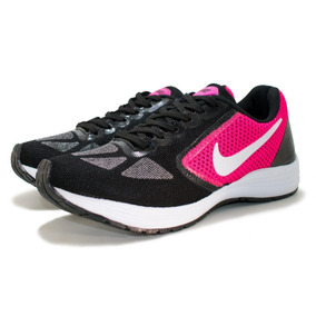 227f7978f4d Tenis Nike Preto Com Rosa Feminino Flyknit - Tênis no Mercado Livre ...