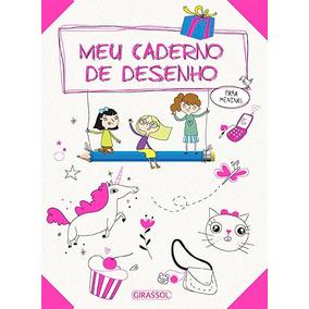 Meu Caderno De Desenho Para Meninas Girassol