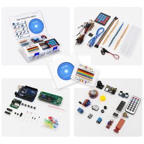 Arduino Uno Completo Kit Arduino Com Manual Produto Original