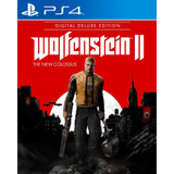 Wolfenstein2 The New Colossus Digital Deluxe Ps4 Digital Gcp