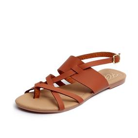 Zapatos Sandalias Huaraches Dama Zapatillas Moda Cafe 1205
