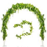 Planta Artificial Guirnalda 4 Pzas Decoracion Boda Blancas 0