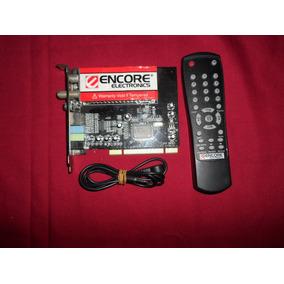Capturadora Encore Electronics Enltv-fm3 Con Fm Pci