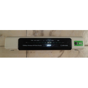 Router Inalámbrico Tp-link Tl-wr743nd 150mbps/2.4ghz