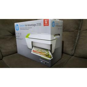 Impressora Multifuncional Hp Deskjet Ink Advantage 2135+usb