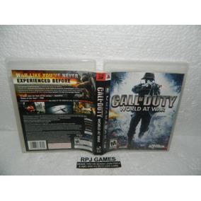 Call Of Duty World At War Original Completa Midia Fisica Ps3