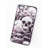 Estuche Carcasa Case Calaveras Craneos iPhone 4 4s Holografi