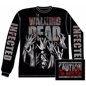 Camiseta Manga Larga Walking Dead