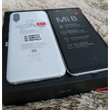 Xiaomi Mi 8 64gb Branco, Novo No Plástico, Pronta Entrega,