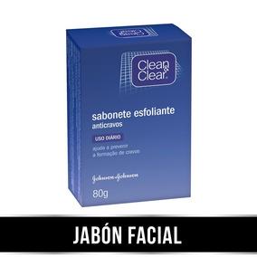Clean & Clear® Jabón Facial Exfoliante Puntos Negros