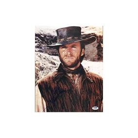 Clint Eastwood Firmado Con Foto De 11x14 Coa Imagen De Cuero 13665aab51a