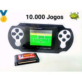 Video Game Portátil Mini Pve C/10 Mil Jogos Pode Ligar Na Tv