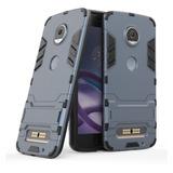 Funda Case Shockproof Moto Z2 Play +mica De Cristal Templado