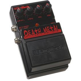Pedal Digitech Death Metal Nuevo