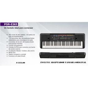 Organo Yamaha Psre 263 Con Adaptador Original Y Mas Karaoke